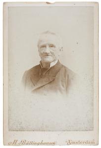 Portret van Johan Fredrik Theodoor van Valkenburg (1817-1906)