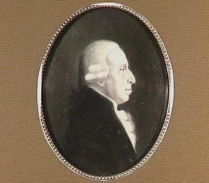 Portret van Johan Jacob van den Brandeler