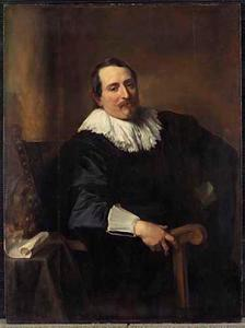 Portret van Theodoor Rombouts (1597-1637)