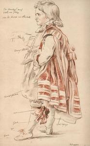 Studie voor Robin, de dwerg