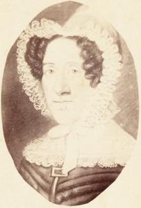 Portret van Maria de Wilde (1780-1854)