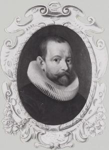Portret van Adriaan van Veen (1569-1639)