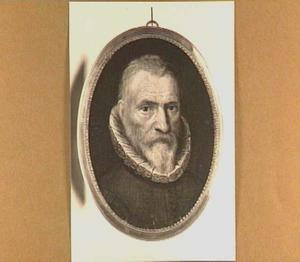Portretminiatuur van een man, ten onrechte genaamd Johan van Oldenbarnevelt