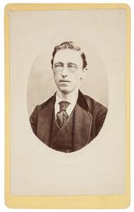 Portret van Nicolaas Jacobus de la Lande Cremer (1834-1896)
