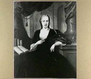 Portret van Jacoba Constantia Godin (1715-1757)