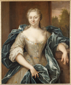 Portret van Maria Agneta Bongart (1709-1744), echtgenote van Jan Jacob van Mansvelt