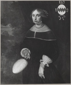 Portret van Anna van Foreest (....-1654)