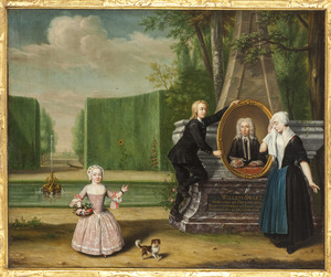 Portret van Anna Maria Magdalena Bachman (1749-....)