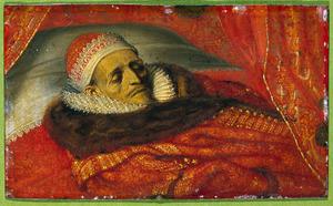 Doodsbedportret van Maurits, prins van Oranje (1567-1625)
