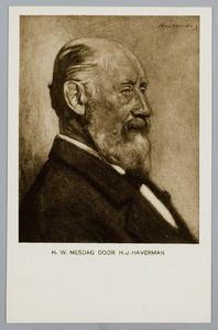 Portret van H.W. Mesdag (1831-1915)