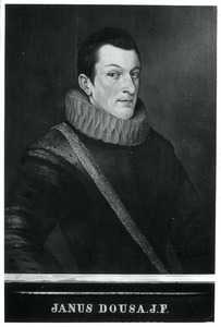 Portret van Johan van der Does (1571-1596)