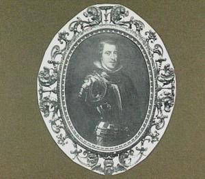 Philip IV, koning van Spanje in wapenuitrusting