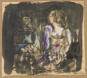 Twee vrouwen in een bar