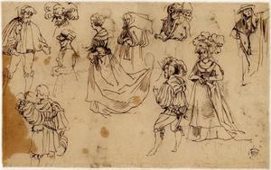 Studies van heren, jonkvrouwen en een kardinaal