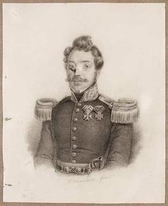 Portret van Johannes Vertholen (1804-1874)