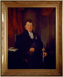 Portret van Frederik van de Poll (1780-1853)