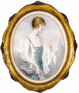 Portret van Catherine Adeline van Welderen barones Rengers (1891-1985)
