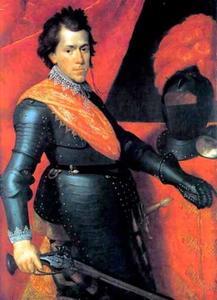 Portret van Christiaan van Brunswijk -Wolfenbuttel (1599-1626)