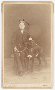 Portret van A.S. Manssen ( -1884)