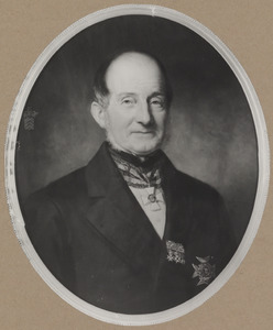 Portret van Eduardus Ludovicus van Voorst tot Voorst (1810-1891)