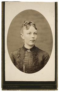 Portret van Hiltje Syperda (1865-1924)