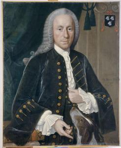 Portret van Cornelis van der Goes (1688-1764)