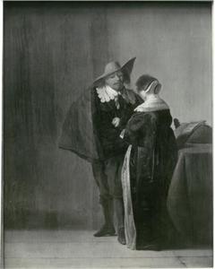Cavalier en dame