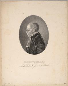 Portret van Jacob Vosmaer (1783-1824)