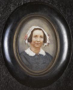 Portret van Suzanna Catharina Grada Merkes (1803-1881)