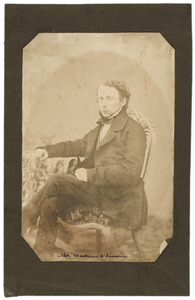 Portret van Martinus d' Aumerie (1831-1919)