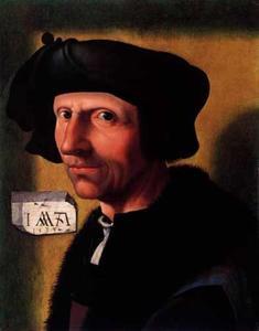 Postuum portret van Jacob Cornelisz. van Oostsanen