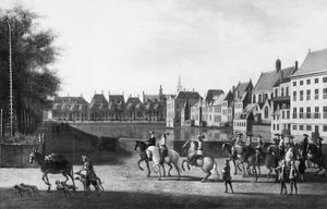 De Hofvijver en de Lange Vijverberg te Den Haag