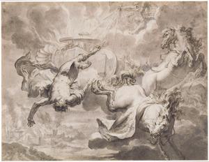 De val van Phaeton (Metamorfosen 2:150-327)