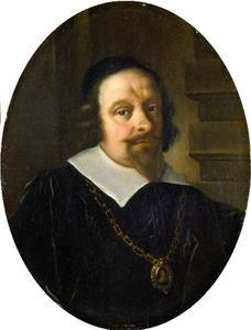 Portret van Hans Nansen (1598-1667),  burgemeester van Kopenhagen