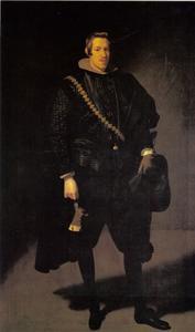Portret van Carlos de Austria, infante de España (1607-1632)