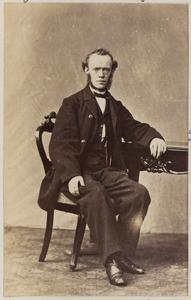 Portret van een man uit familie Wigersma