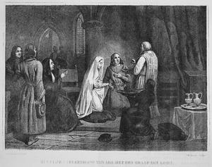 Het huwelijk van gravin Ada met de graaf van Loon