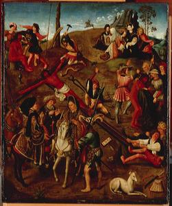 Episoden uit de Passie van Christus op de Calvarieberg