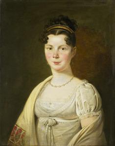 Portret van Wilhelmina Maria Haack (1788-1857)