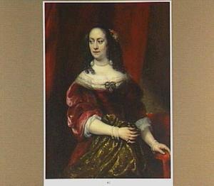 Portret van een vrouw, genaamd Anna Rijkens