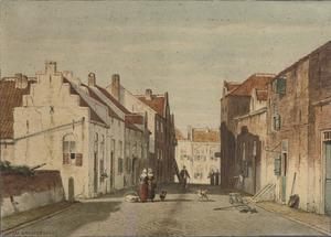 De Kerkstraat te Rhenen