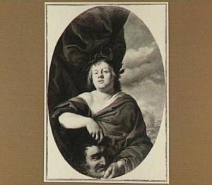 Zelfportret als David met het hoofd van Goliath