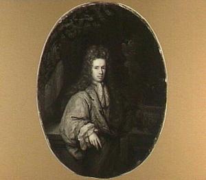 Portret van Jacob Jan de Backer (1667-1718), advocaat te Amsterdam, echtgenoot van Agatha Bicker