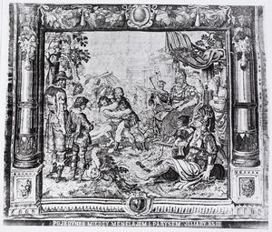 Duel tussen Paris en Menelaüs