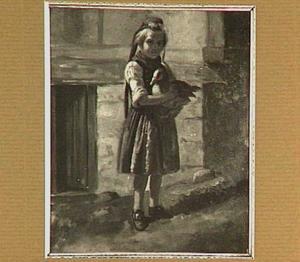 Meisje met eend