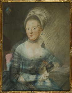Portret van een vrouw, mogelijk Gijsbertina Maria Hogerwaard (....-1821)