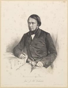 Portret van Johannes Josephus Herman Verhulst (1816-1891)
