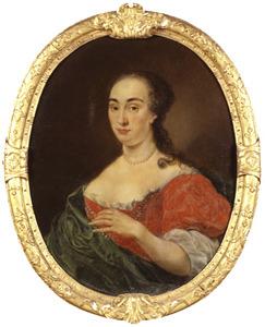 Portret van Alegonda Maria Beckering-van Bolhuis