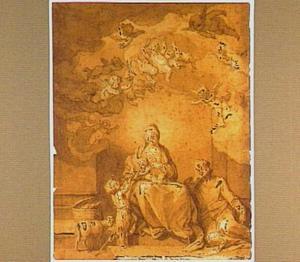 De Heilige Familie met het kind Johannes de Doper