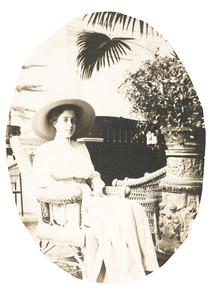 Portret van Ada Johanna Gülcher (1893-1912)